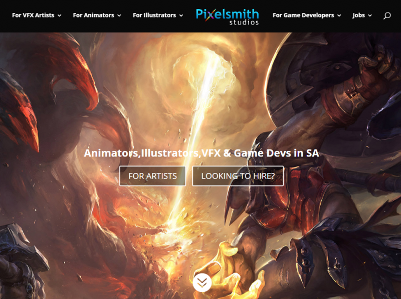 Pixelsmithstudios - Local Online Portfolio