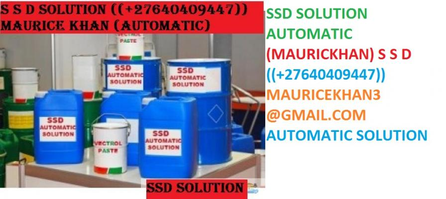 SSD CHEMICAL SOLUTION TO CLEAN  +27640409447))