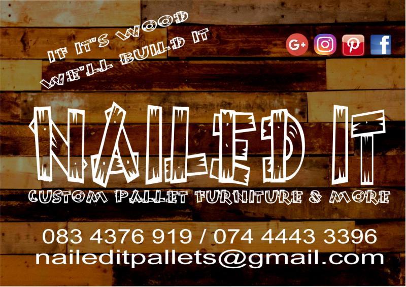 Nailed It - Custom Built Pallet Wood Furniture