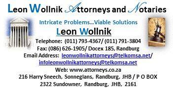 Leon Wollnik Attorneys and Notaries