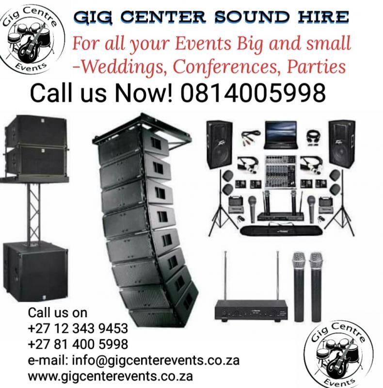 Gig center Events